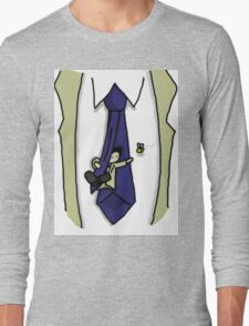 Cute Castiel and bee Long Sleeve T-Shirt
