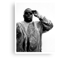 Notorious B.I.G. Canvas Print
