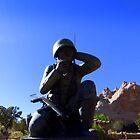 Navaho Code Talkers, Memorial.   by Charmiene Maxwell-batten
