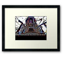 Psychedelic Castle Framed Print