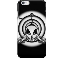 "AL ""The Grey"" BW / Hyper-dimensional skydiver iPhone Case/Skin"