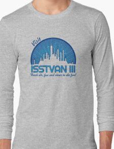 Visit (dark blue) Long Sleeve T-Shirt
