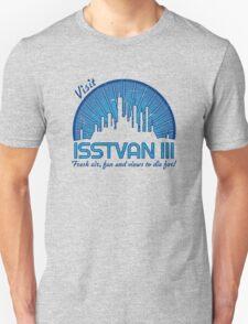 Visit (dark blue) Unisex T-Shirt