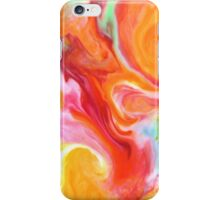 Smudge Paint Abstract #1 iPhone Case/Skin
