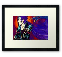 The king (2) colored Framed Print