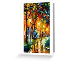 The Way To Warmth — Buy Now Link - www.etsy.com/listing/223805461 Greeting Card