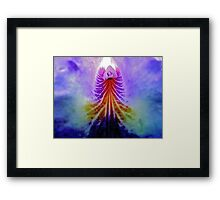 Inside the Pedals Framed Print