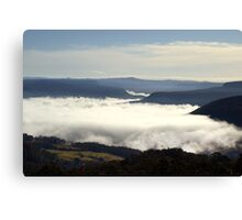 Valley Clouds - Kangaroo Valley, NSW Canvas Print