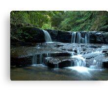 Mystery Location Falls - Kangaroo Valley, NSW Canvas Print
