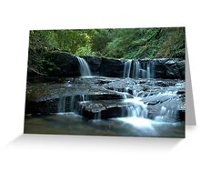 Mystery Location Falls - Kangaroo Valley, NSW Greeting Card