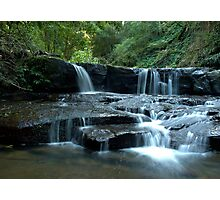 Mystery Location Falls - Kangaroo Valley, NSW Photographic Print