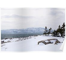 Acadia National Park Winter Time Poster