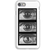 ATWYW - Head/Eye Liner iPhone Case/Skin