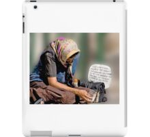 Sona Una Povera.... iPad Case/Skin