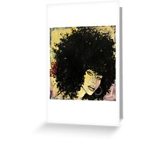 she swings Greeting Card