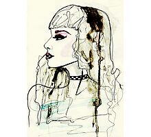 Fashion Illustration No.1 : Watercolour Illustration Photographic Print