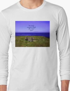 Alone - but not Lonely Long Sleeve T-Shirt
