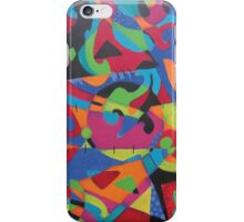 Abstract Crayola iPhone Case/Skin