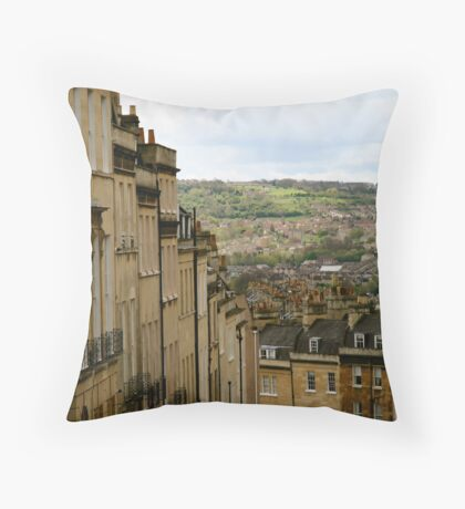 Bath views Throw Pillow