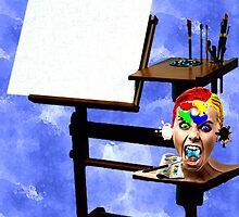 WAIT.....I'm the ARTIST ! by CheyenneLeslie Hurst