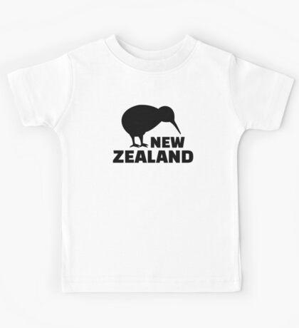 Kiwi New Zealand  Kids Tee