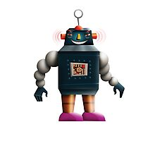 Bad Robot Photographic Print