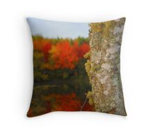 Beauty and the Birch Throw Pillow