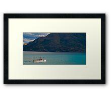 Steamship TSS Earnslaw - Queenstown New Zealand Framed Print