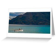 Steamship TSS Earnslaw - Queenstown New Zealand Greeting Card