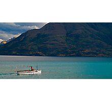 Steamship TSS Earnslaw - Queenstown New Zealand Photographic Print