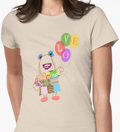Betty's Balloons Womens Fitted T-Shirt