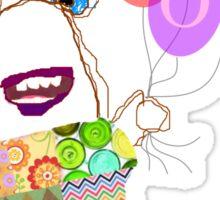 Betty's Balloons Sticker
