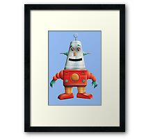 Happy Robot Framed Print