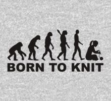 Evolution born to knit Kids Tee