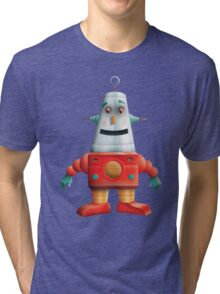 Happy Robot Tri-blend T-Shirt