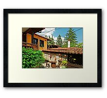 Traditional house in Koprivshtitsa, Bulgaria # 3 Framed Print