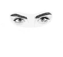 Cara Delevigne Eyes by Kira DeSomma