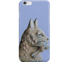 Carousel Cat With Bird iPhone Case/Skin