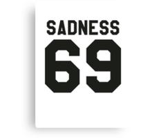 SADNESS 69 GIVENCHY Canvas Print