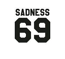 SADNESS 69 GIVENCHY Photographic Print