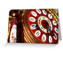 timepiece Greeting Card