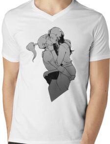 Korrasami Kiss Mens V-Neck T-Shirt