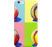 4 Peaches, Like Andy Warhol iPhone Case/Skin