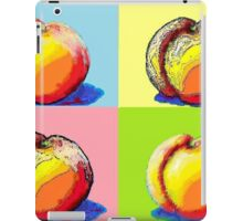 4 Peaches, Like Andy Warhol iPad Case/Skin
