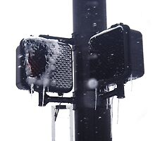 Frozen crosswalk light by EplusC Studio