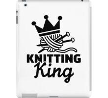 Knitting king iPad Case/Skin