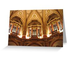 Dome of 333 Collins Street, Melbourne Greeting Card