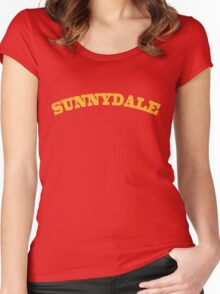 Sunnydale Gym Women's Fitted Scoop T-Shirt