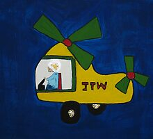 Jacks Helicopter by DeborahDinah
