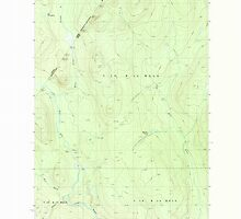 Maine USGS Historical Map Rocky Brook 102920 1987 24000 by wetdryvac